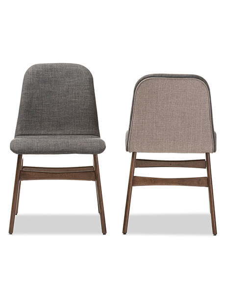 Summit Grey Fabric Chair