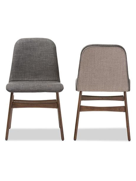 Summit Grey Fabric Chair