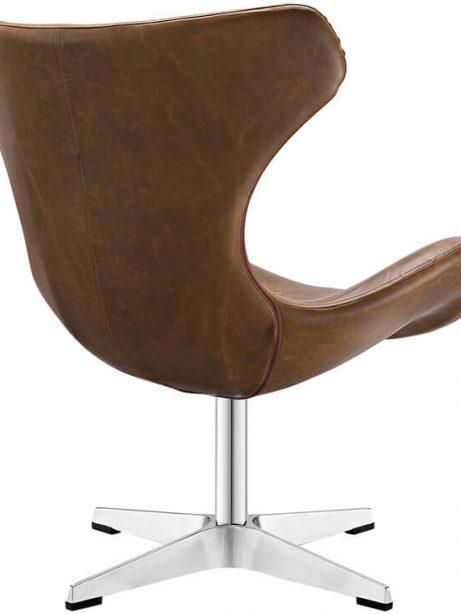 Swift lounge chair brown 461x614
