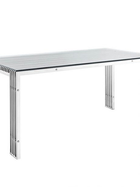brickell chrome glass dining table 461x614