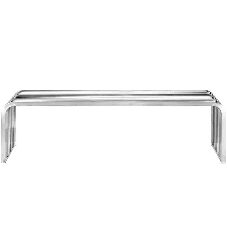 chrome curve bench 2