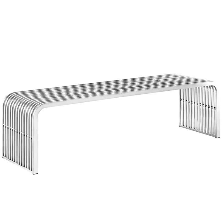 chrome curve bench 4