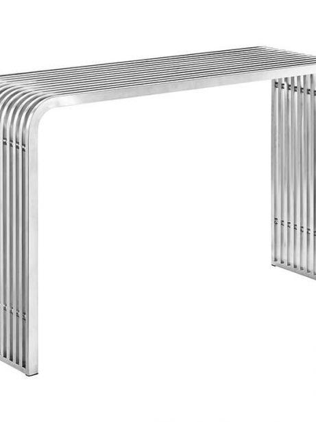 chrome curve console table 461x614