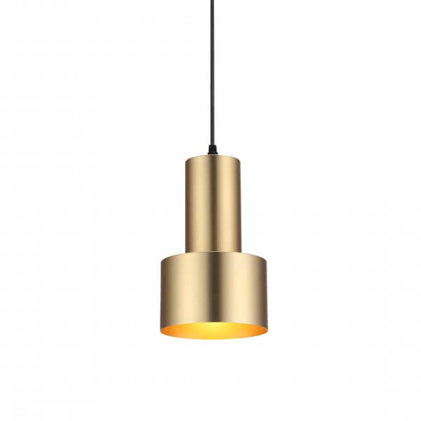 gold scope pendant lighting