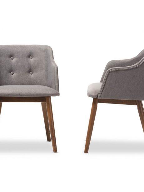 grey fabric dining chair 461x614