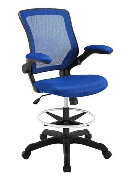 mesh drafting stool