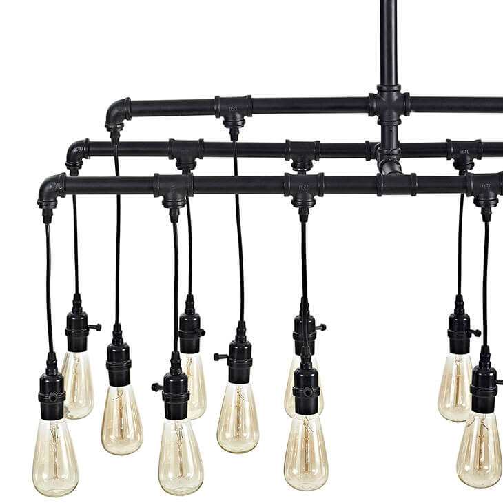 steampunk industrial chandelier 3