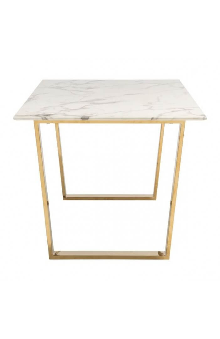 white marble gold dining table 2