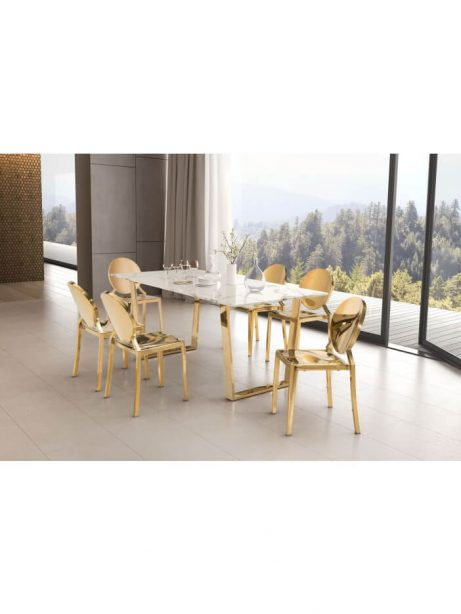 white marble gold dining table 5 461x614