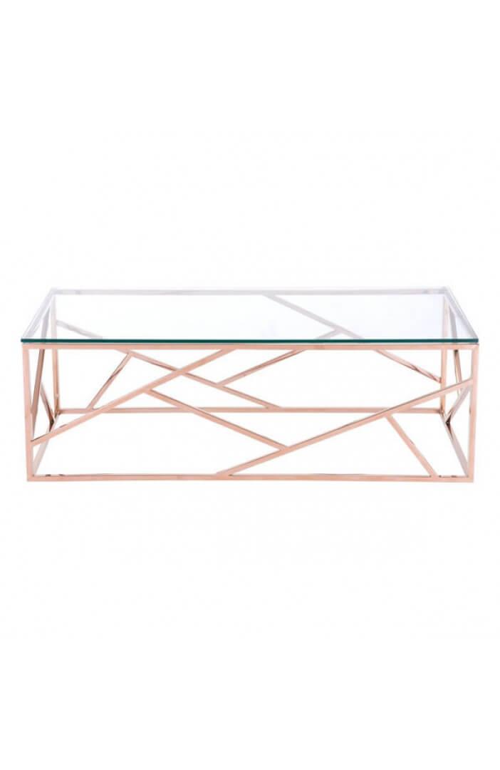 aero rose gold coffee table 1