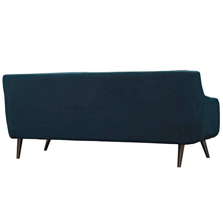 archive blue fabric sofa 2