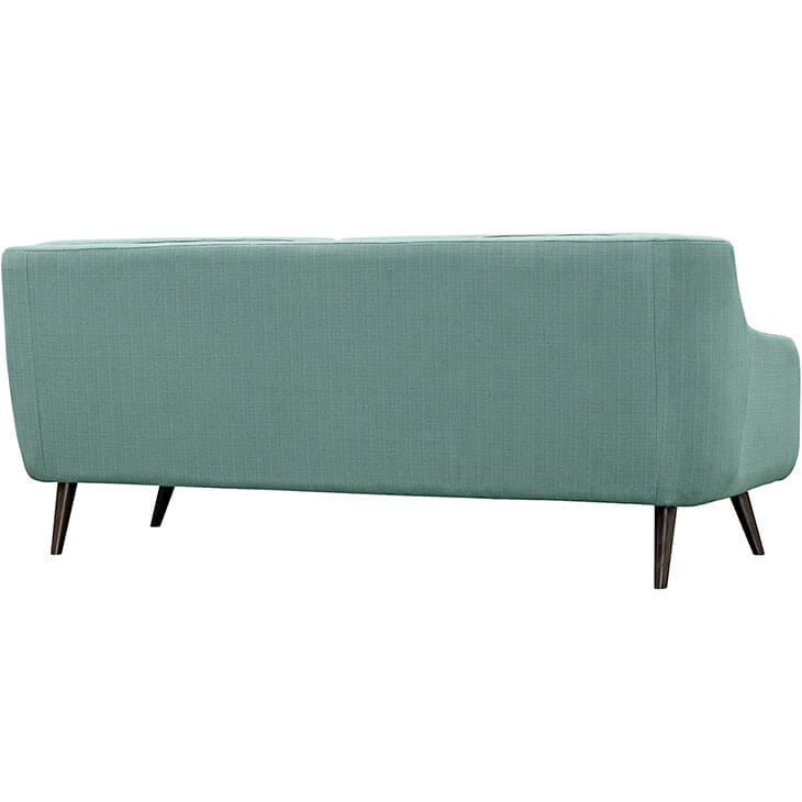 archive green fabric sofa 2