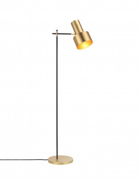 Charming Brass Floor Lamp Modern 461x600