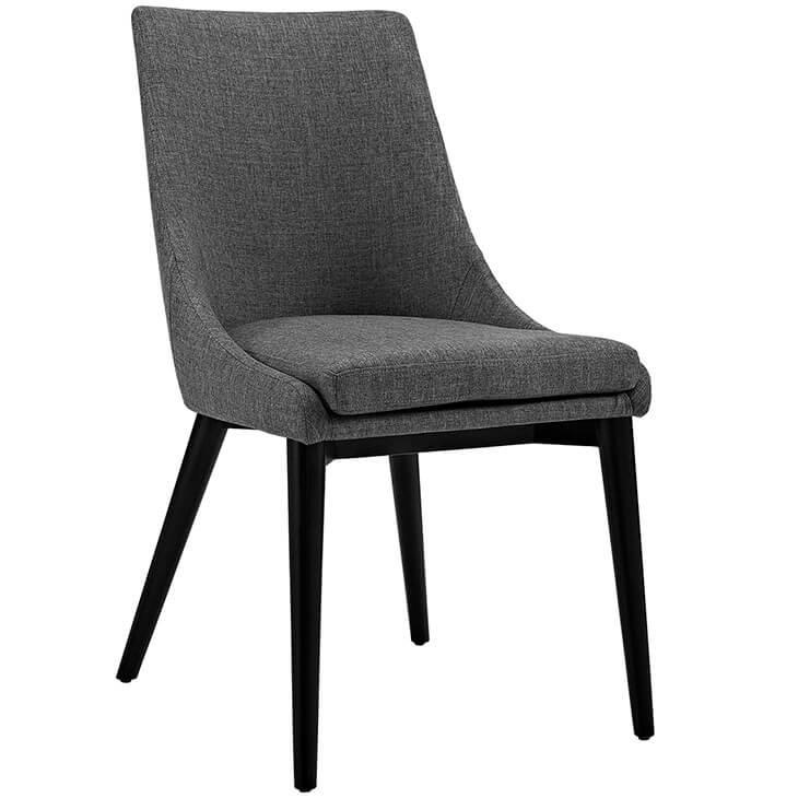 dark gray alps fabric chair