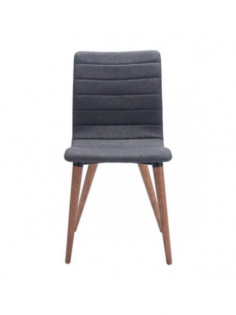 intrigue fabric dining chair gray 2 461x614