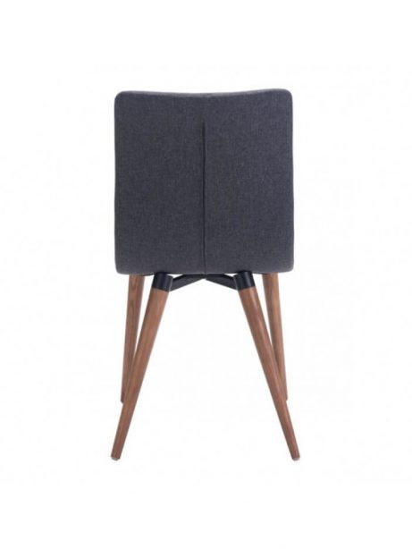 intrigue fabric dining chair gray 461x614