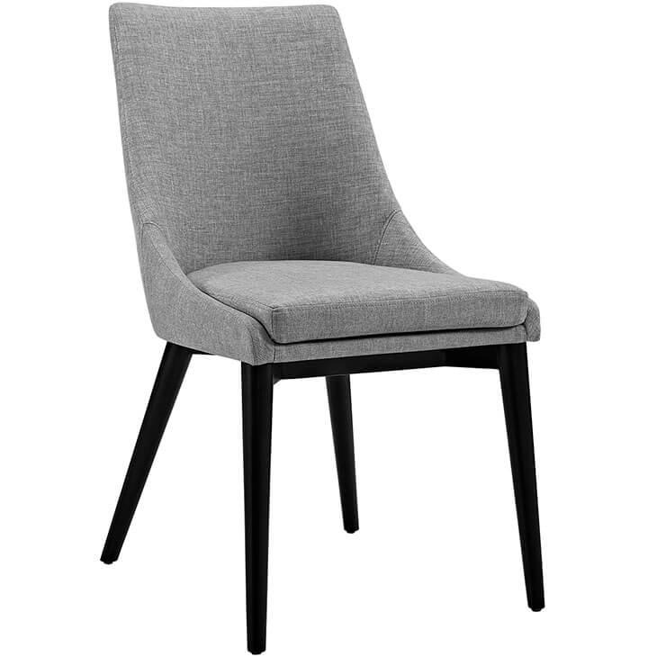 light gray alps fabric chair