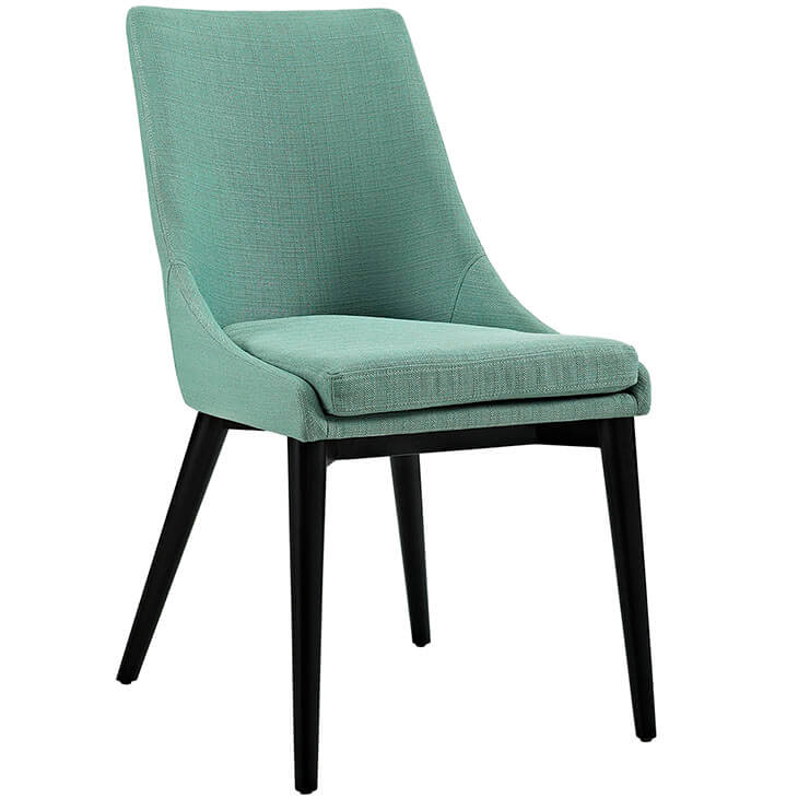 mint green alps fabric chair