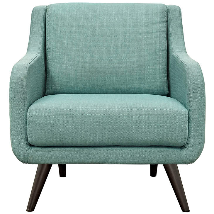 mint green archive armchair