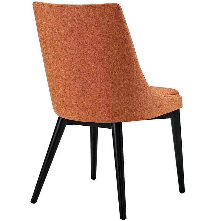 orange alps fabric chair 3