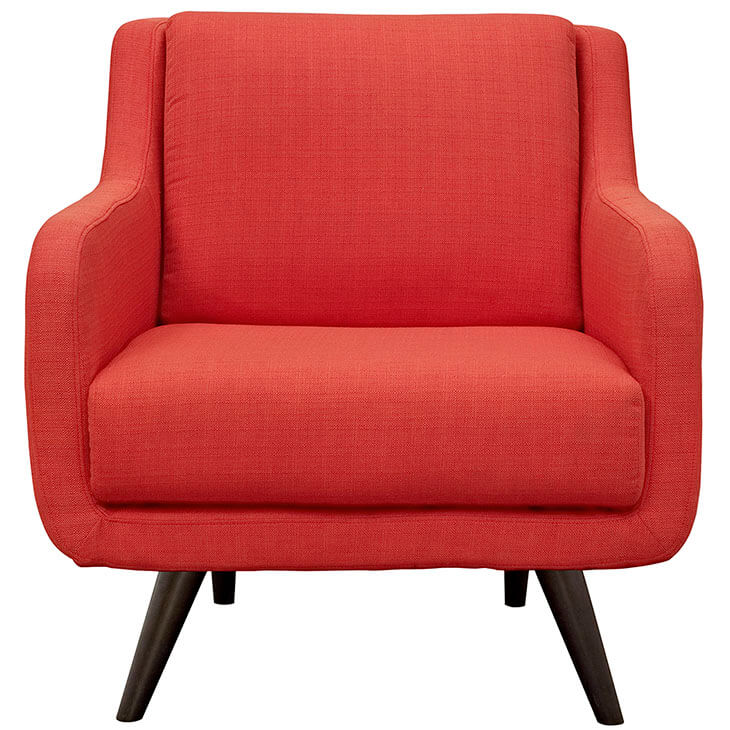 red archive armchair