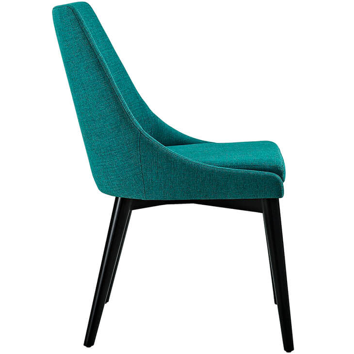 turquoise alps fabric chair 2