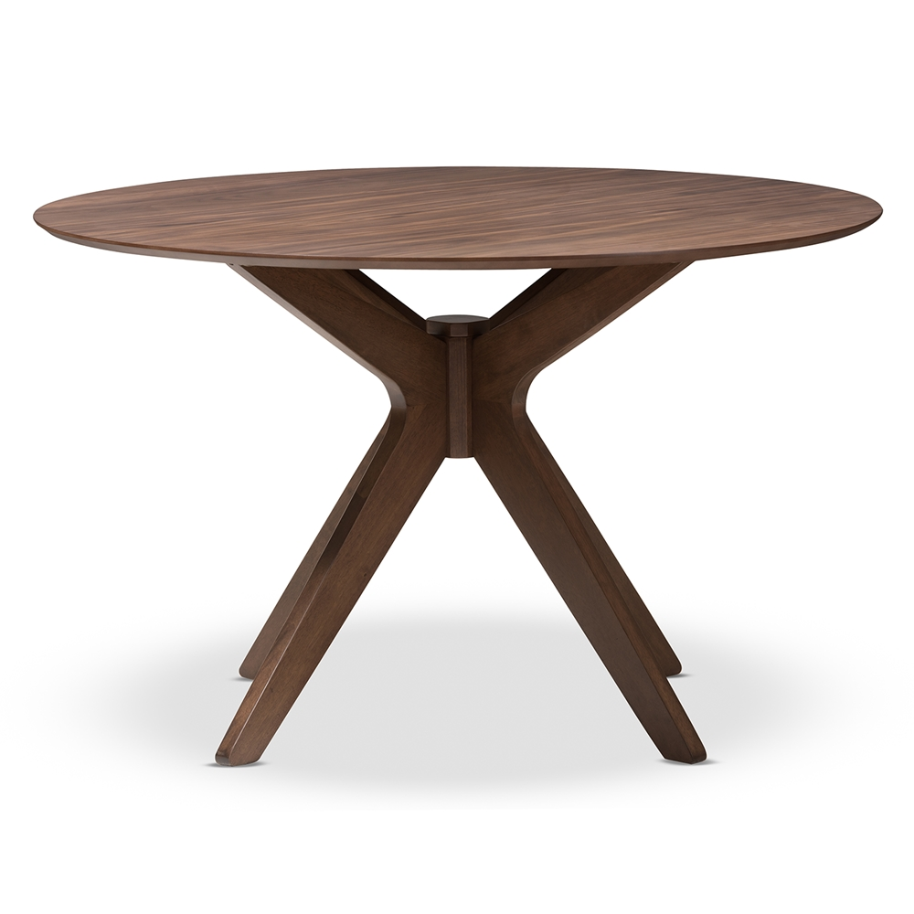 Reagan Walnut Wood Dining Table 2
