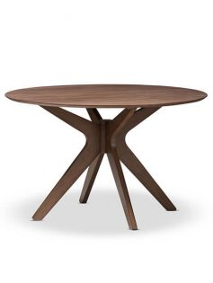 Reagan Walnut Wood Dining Table 237x315