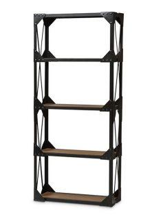 black iron wood shelving unit 237x315