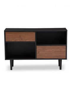 black walnut wood sideboard cabinet 237x315