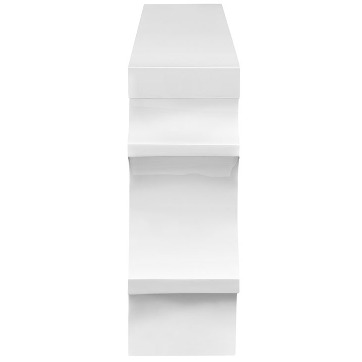 hive medium console table white 2