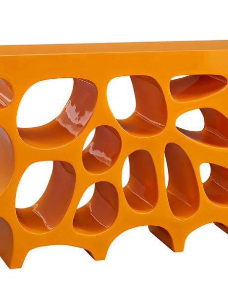 hive small console table orange 1 461x614
