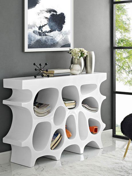 hive small console table white 3 461x614