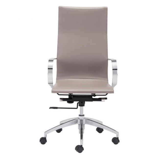 image highback office chair taupe 2