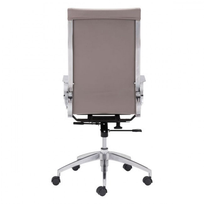 image highback office chair taupe 3