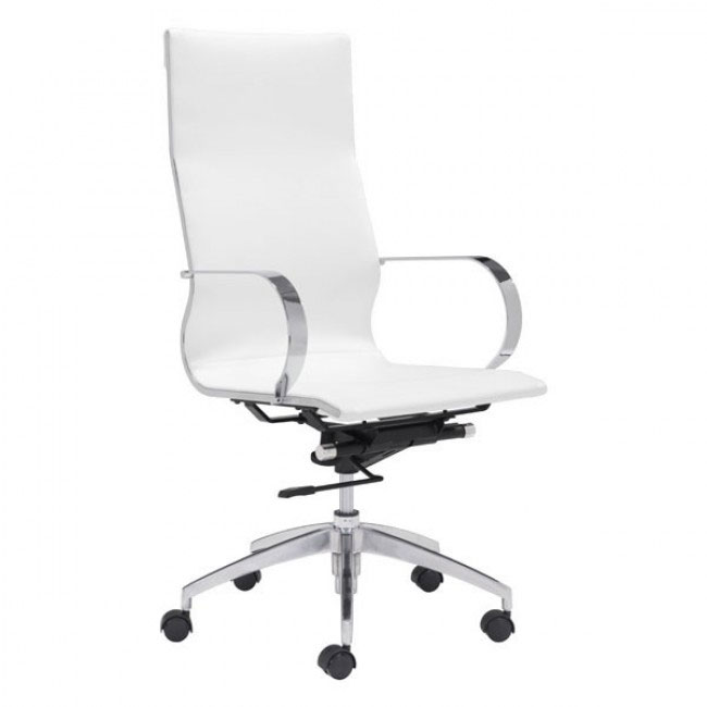 image highback office chair white 1
