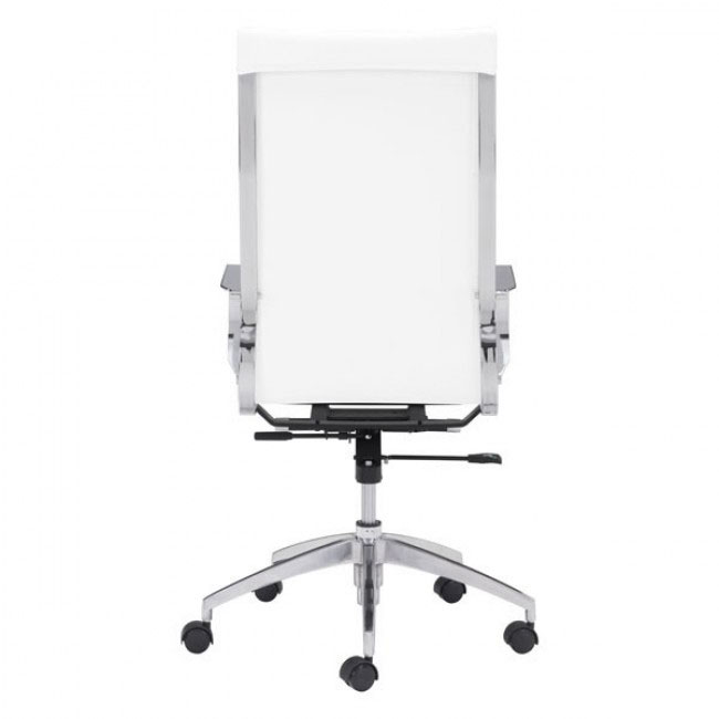 image highback office chair white 4