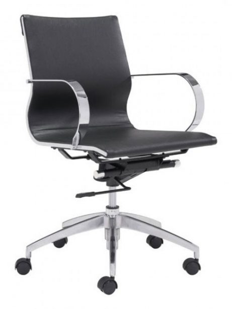 image mid back office chair black 1 461x614