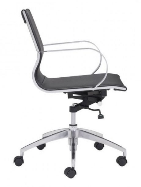 image mid back office chair black 2 461x614
