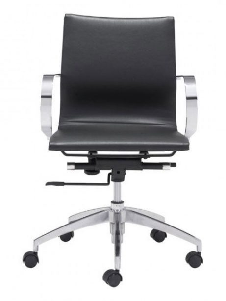 image mid back office chair black 3 461x614