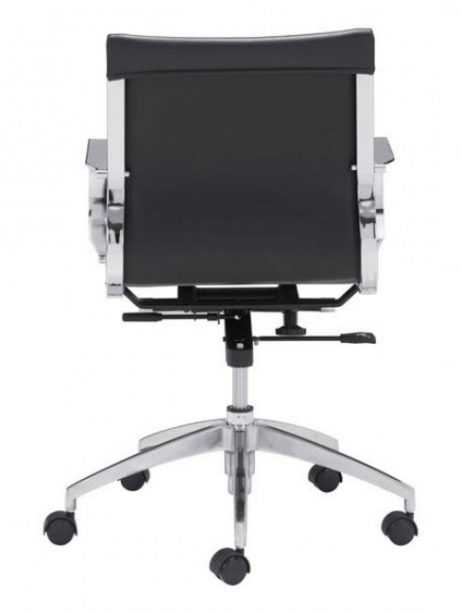 image mid back office chair black 4 461x614