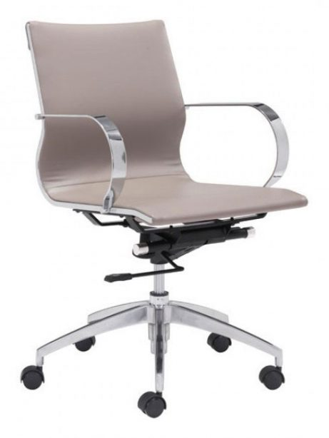 image mid back office chair taupe 1 461x614