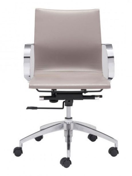 image mid back office chair taupe 3 461x614