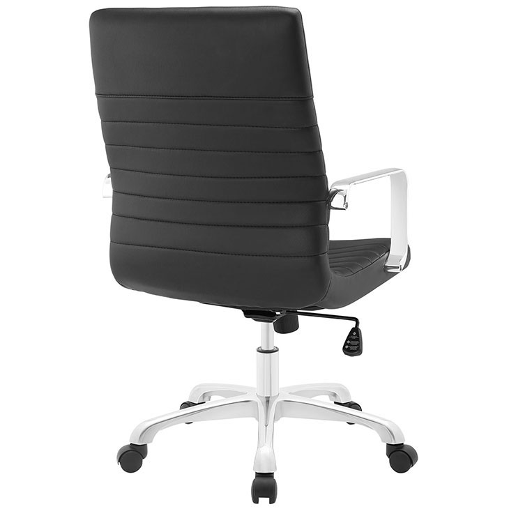 inspire mid back office chair black 2