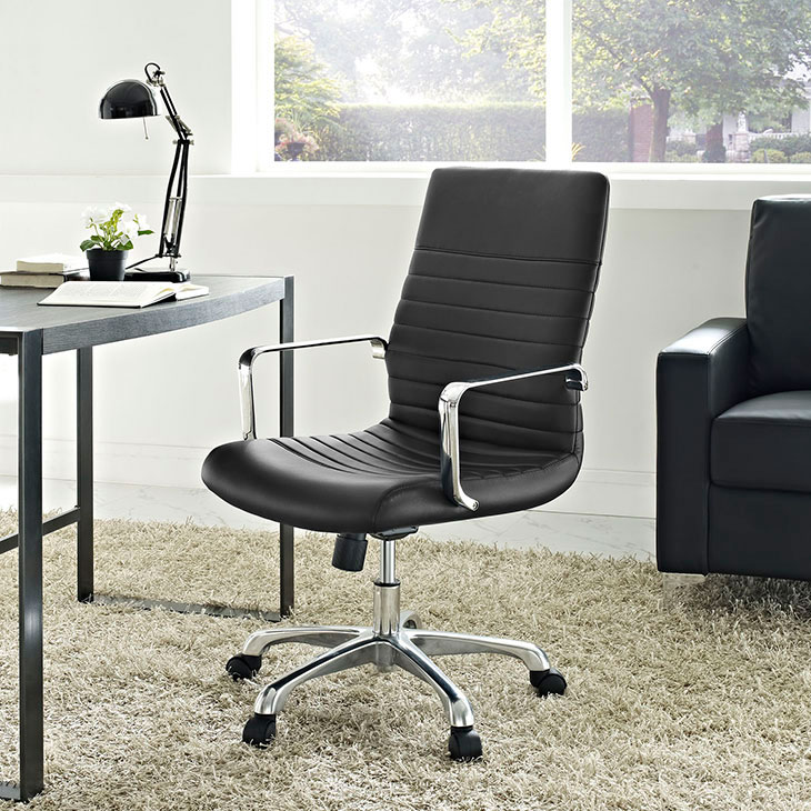 inspire mid back office chair black 3