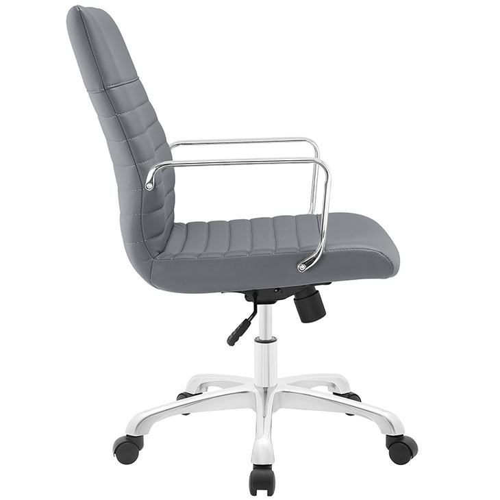 inspire mid back office chair gray 2