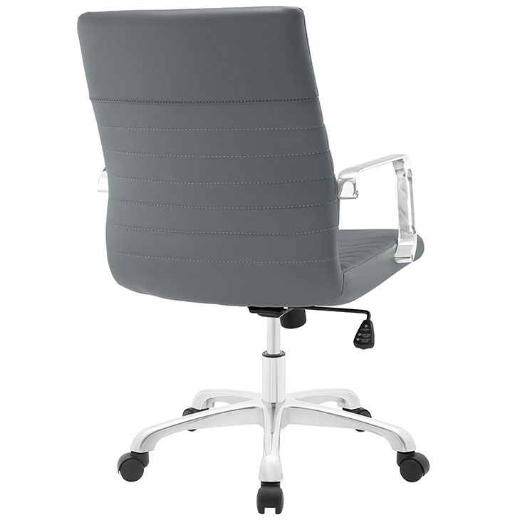 inspire mid back office chair gray 3