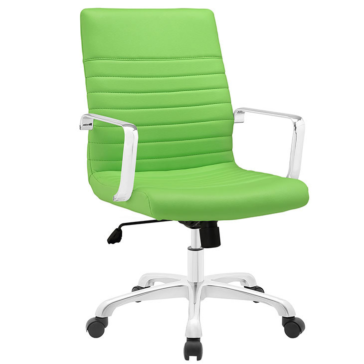 inspire mid back office chair green 1