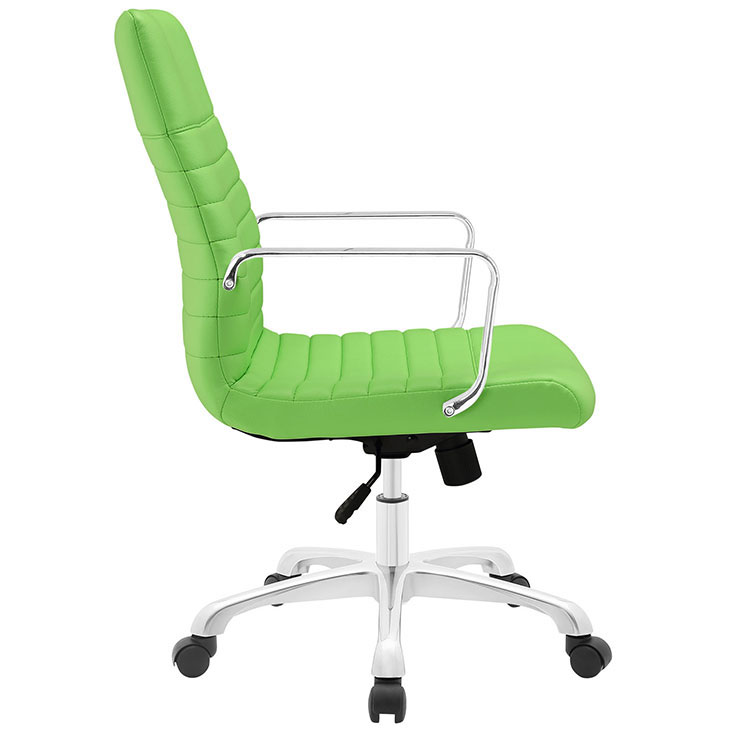inspire mid back office chair green 2