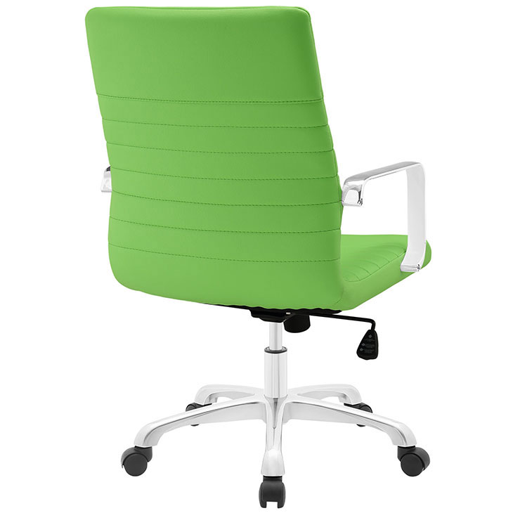 inspire mid back office chair green 3